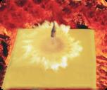 Glødebeskyttelse 150x150 cm